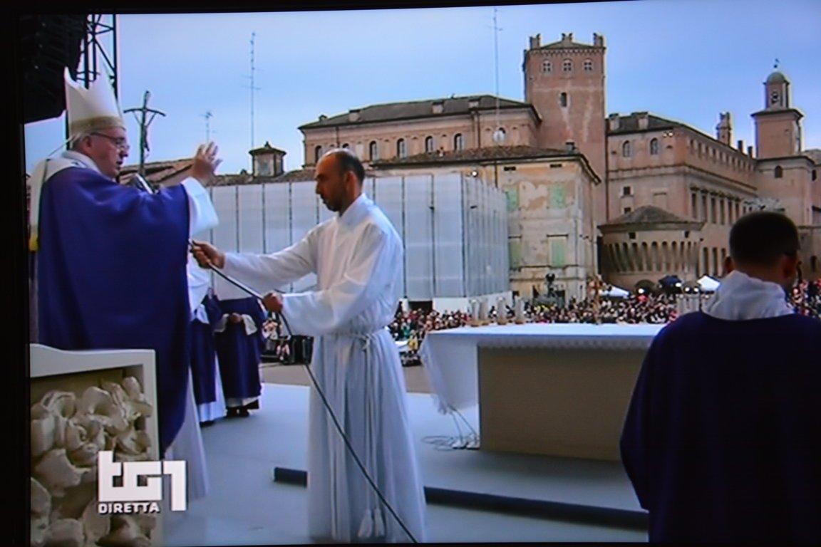 Papa Francesco in visita a Carpi