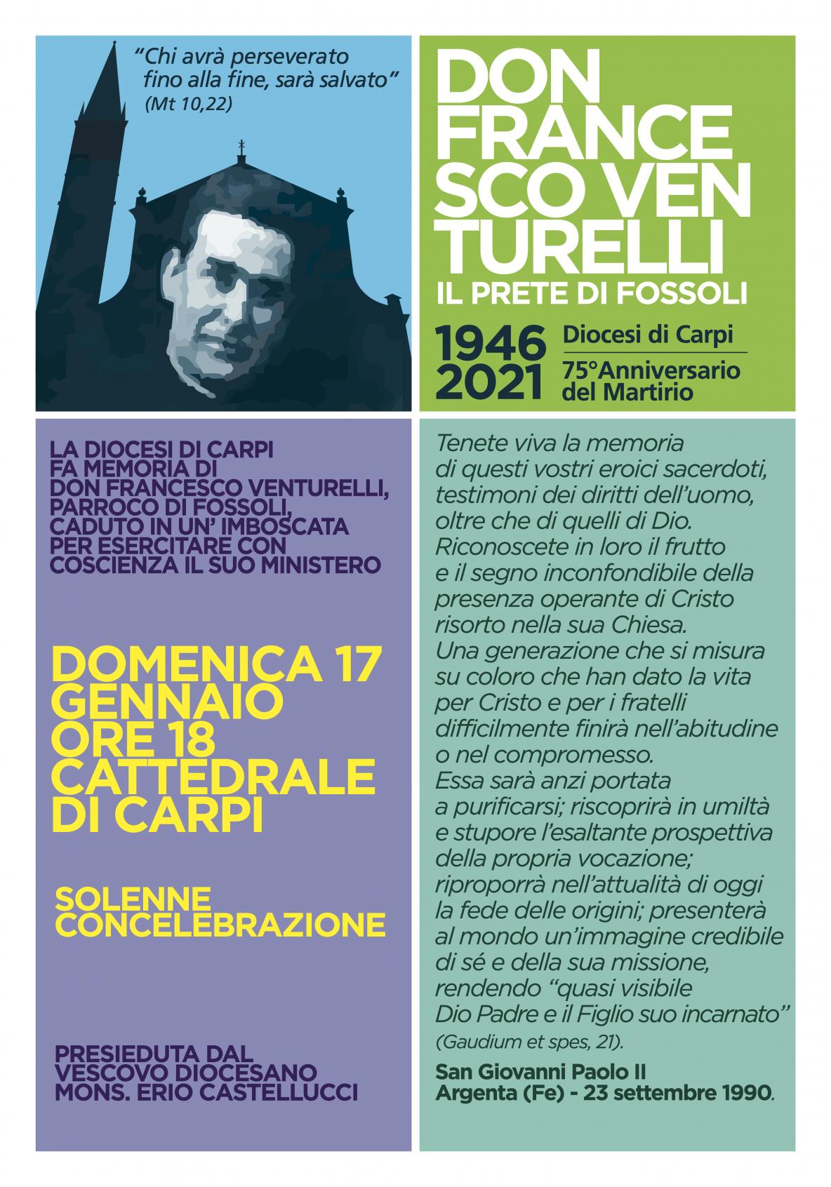 Don Francesco Venturelli - Il prete di Fossoli